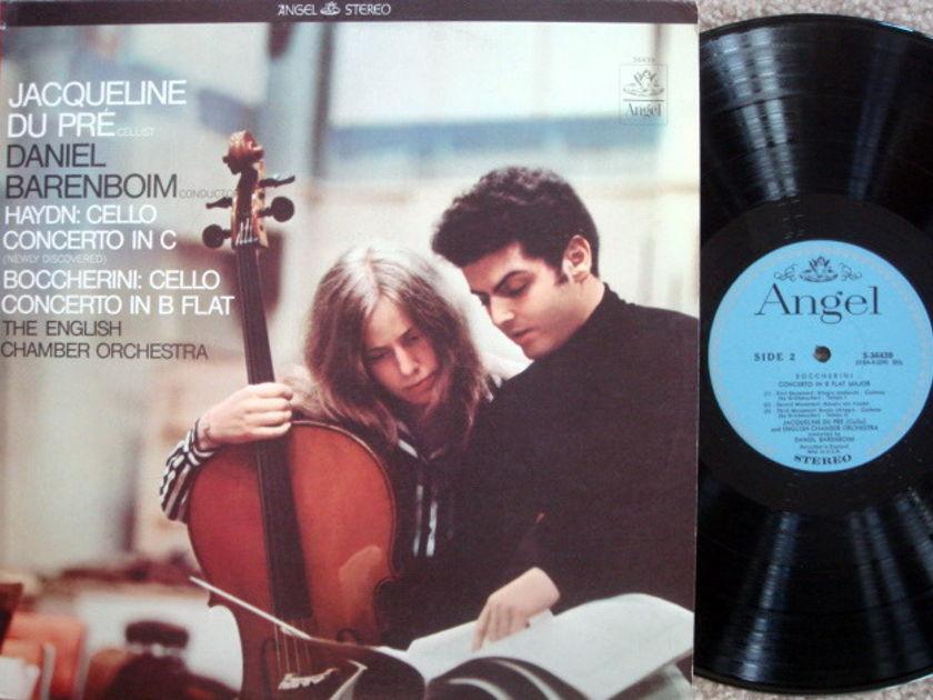 EMI Angel Blue / DU PRE-BARENBOIM, - Boccherini-Haydn Cello Concertos, MINT!