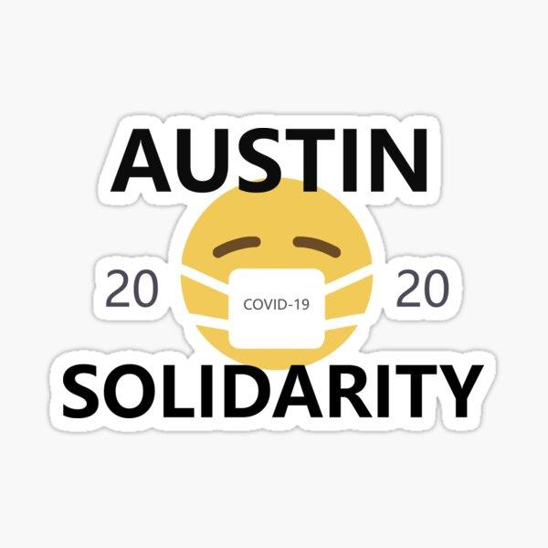 Austin COVID-19 2020 Solidarity Stickers