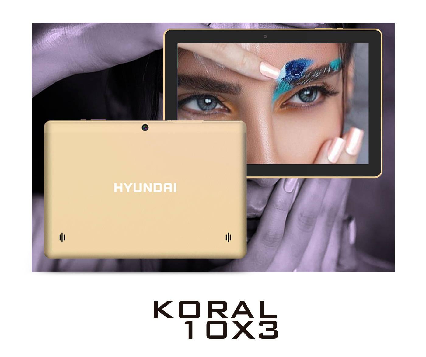 Hyundai Koral 10X3 tablet