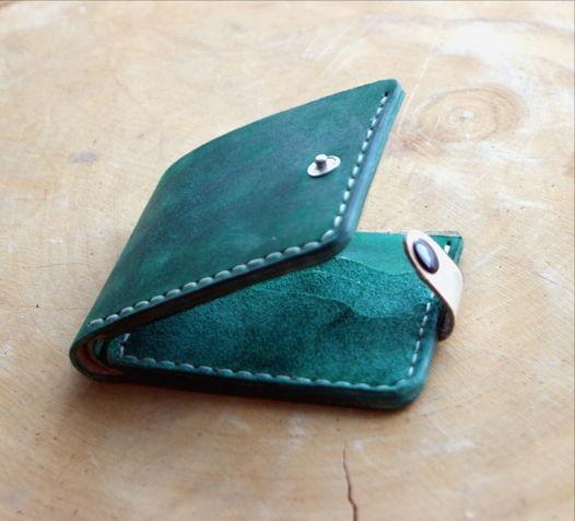 Базовый бумажник зеленый