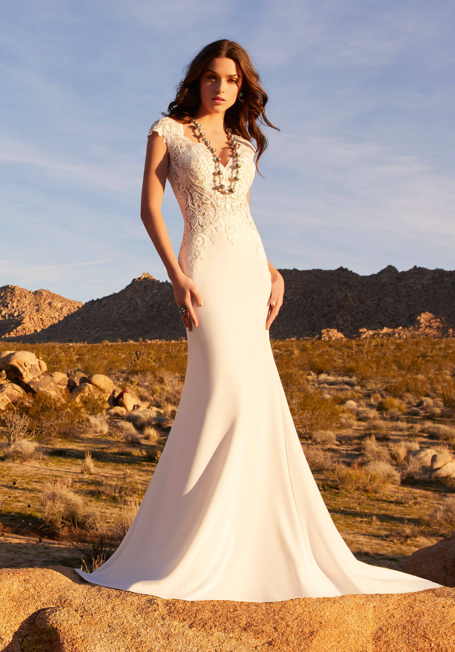 MORI LEE  WEDDING DRESS 5769