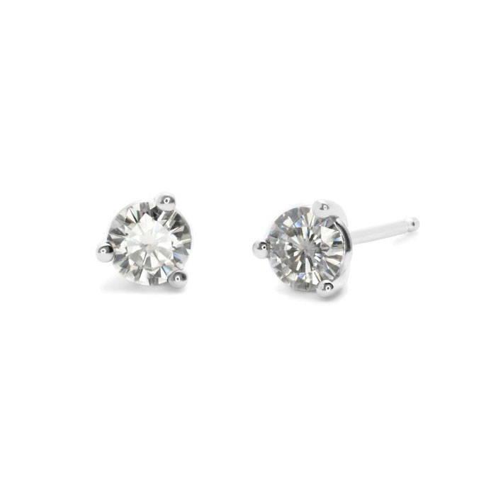 Moissanite earring