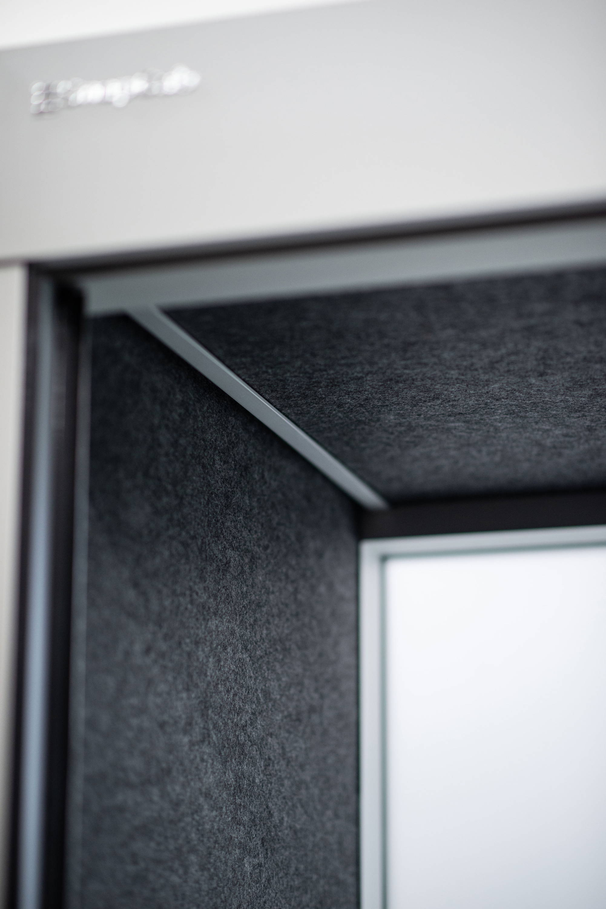 SnapCab PET sound dampening panels for coference and office pod