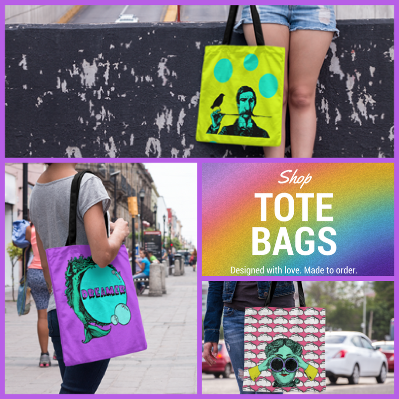 Shop made to order tote bags