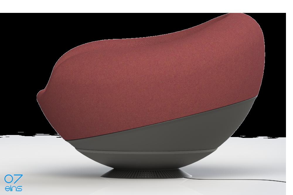 07eins / Design Lounge Hemisphere