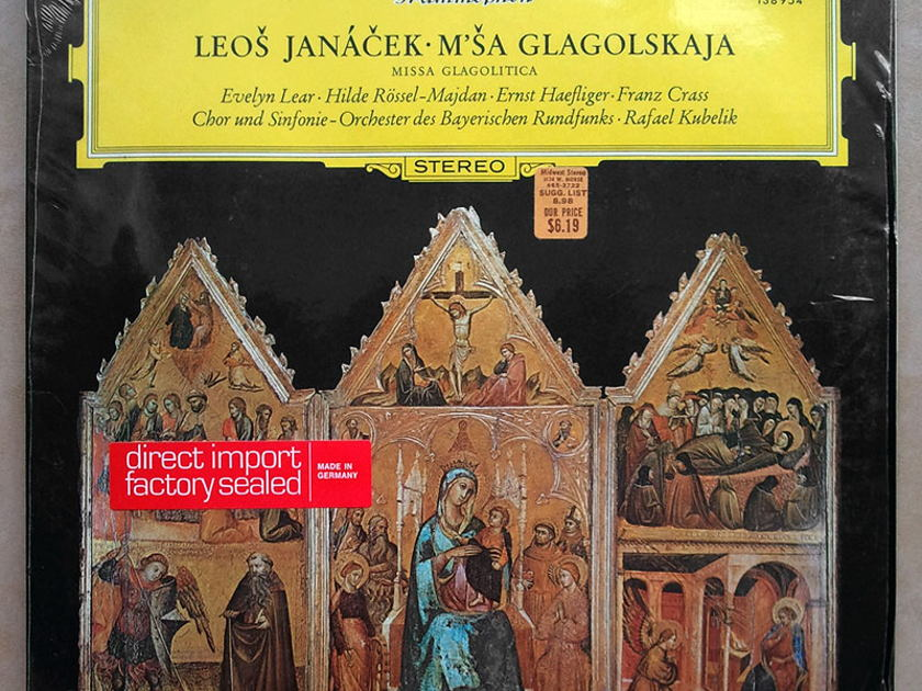 Sealed DG | KUBELIK/JANACEK - Glagolitic Mass