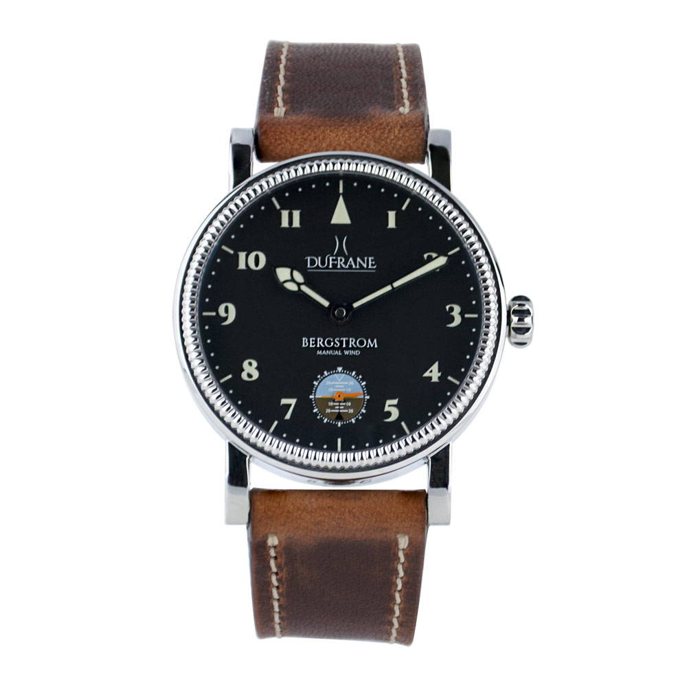 Bergstrom Cinq Limited Edition Classic Aviator Style Watch