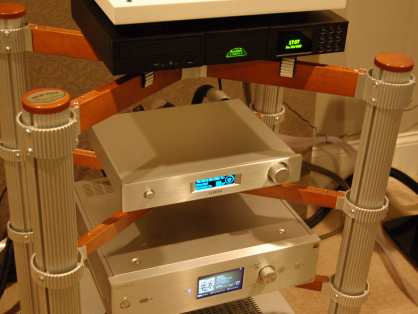 Lumin  M1  LuminServer Int Amplifier = DSD  Amp - Pre - server Combo