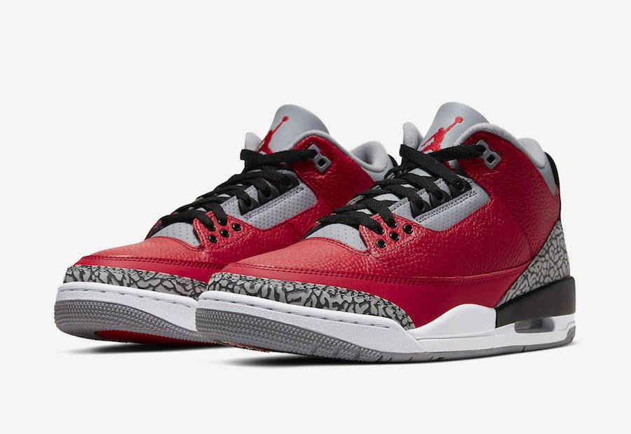 Nike Air Jordan 3 Red Cement Chicago