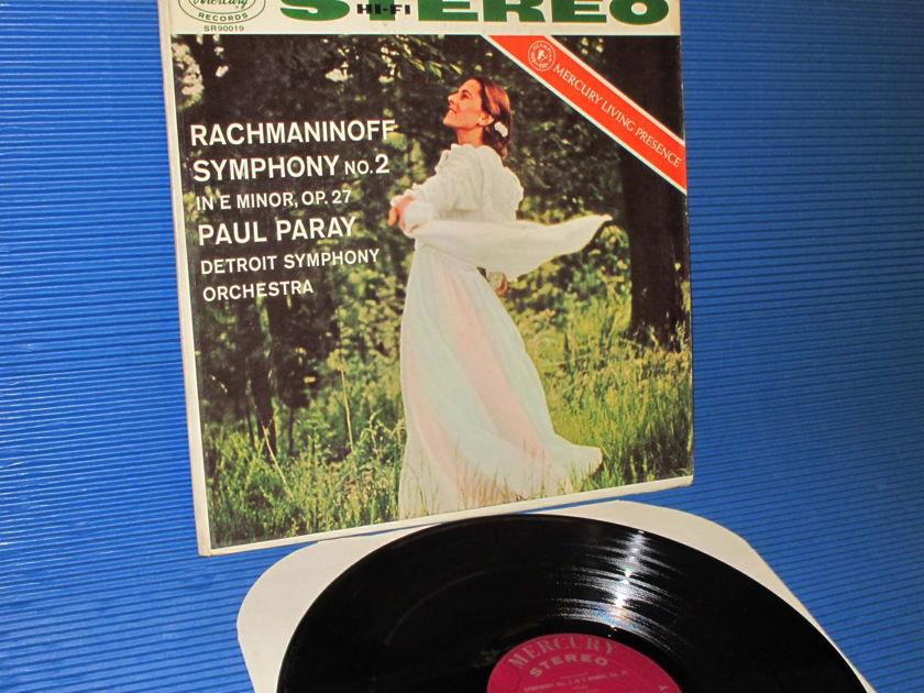 "RACHMANINOFF / Paray  - ""Symphony no.2"" -  Mercury Living Presence 1958 very early pressing"