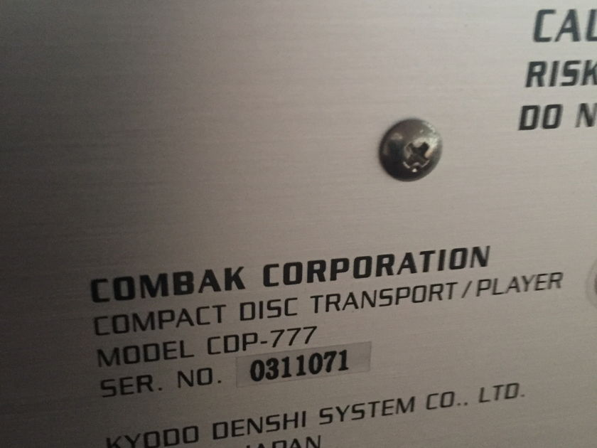 Harmonix Reimyo CDP-777 CD Player