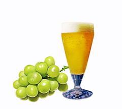 白ブドウとビール