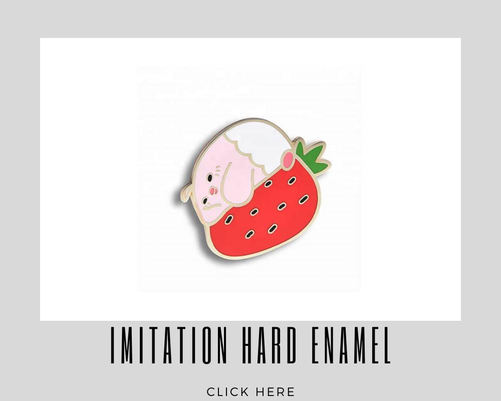 corporate imitation hard enamel custom lapel pins
