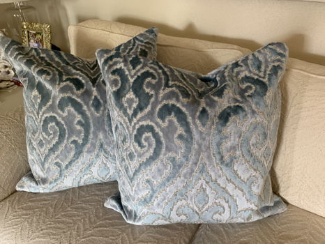 Custom Pillows by Jennifer Cheatham Designs
