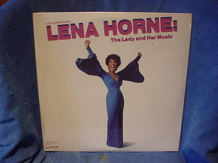 Lena horn - LADY and her music 2/lp live on broadway mint