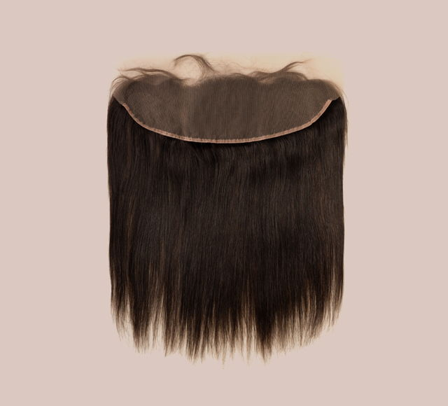 Straight Natural Black Frontals Mayvenn