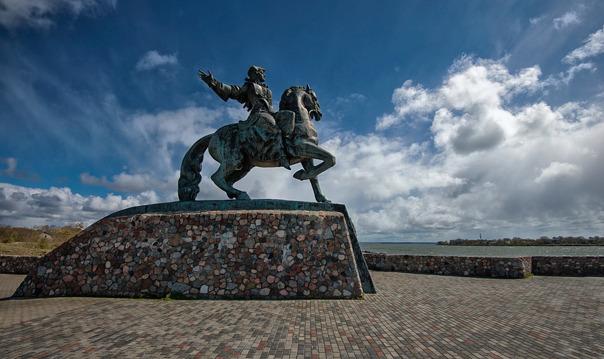 Самый западный гарнизон-Балтийск и родина солнечного камня Янтарный.