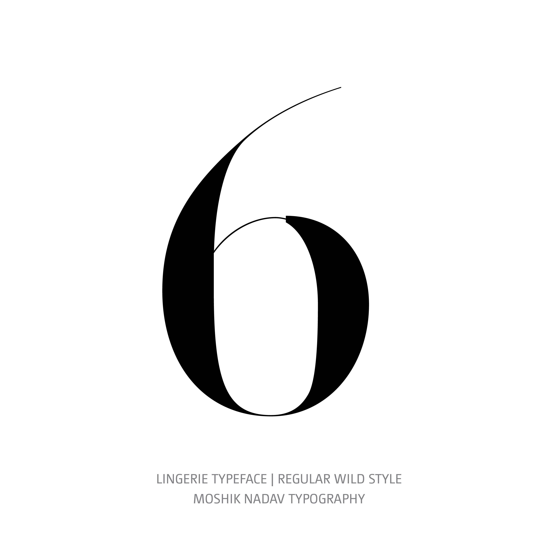 Lingerie Typeface Regular Wild 6