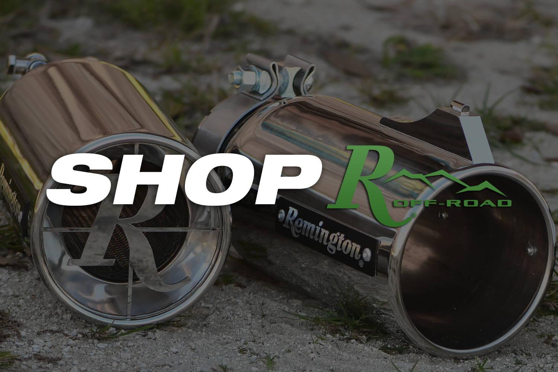 Shop Remington Off-Road Universal Exhaust Tips Online Today