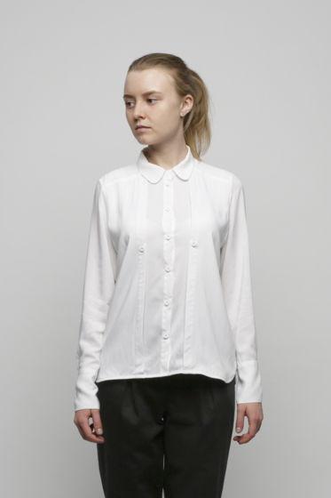 Белая двойная рубашка