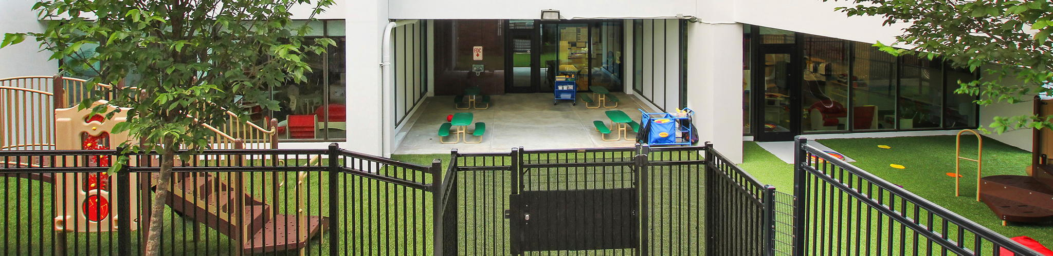 Children play area of the Primrose School of Buckhead