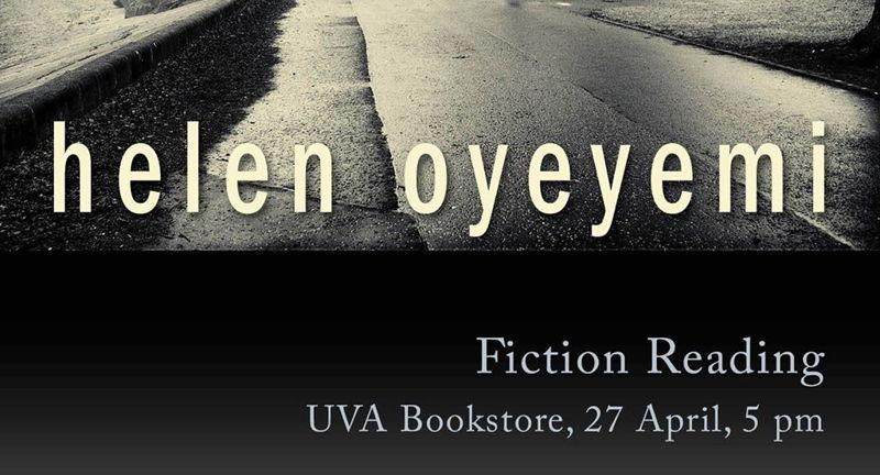 Helen Oyeyemi Reading