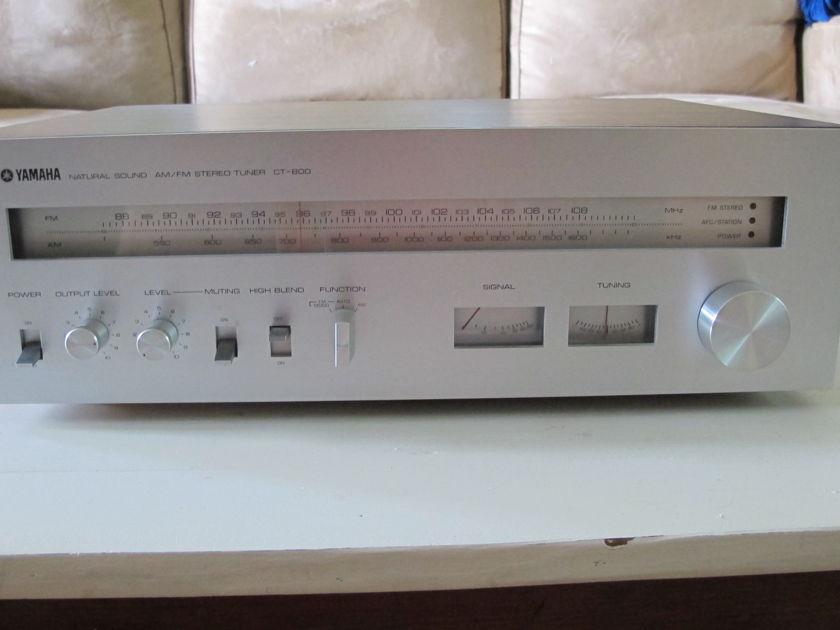 Yamaha CT-800 Vintage FM/AM Tuner