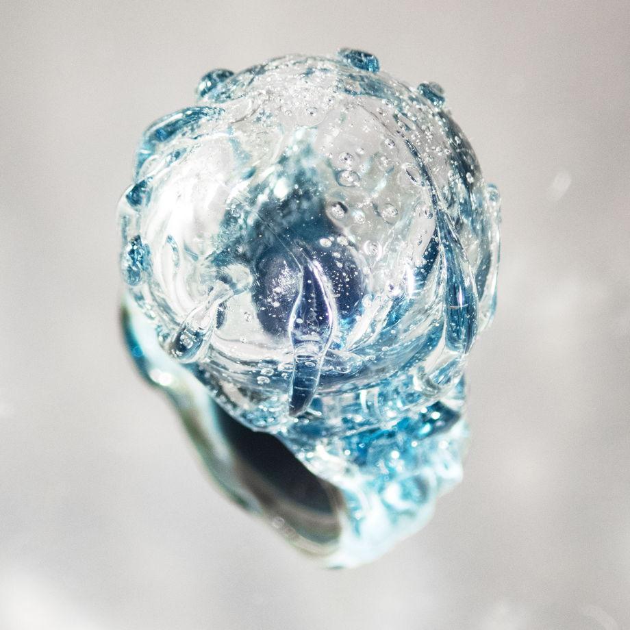 Кольцо русалки Подводный пузырь (морской синий)
