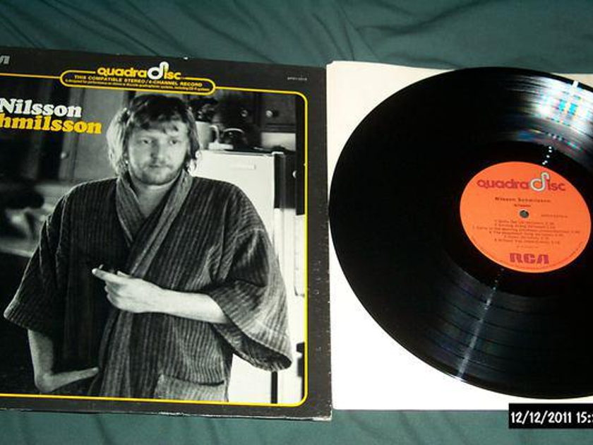 Harry Nilsson - NIlsson Schmilsson cd-4 quadradisc lp nm