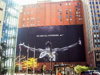 Lebron James Wall