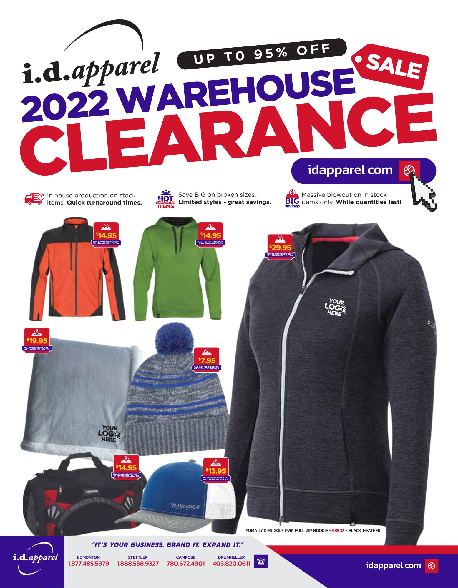 2021 Warehouse Clearance Flyer