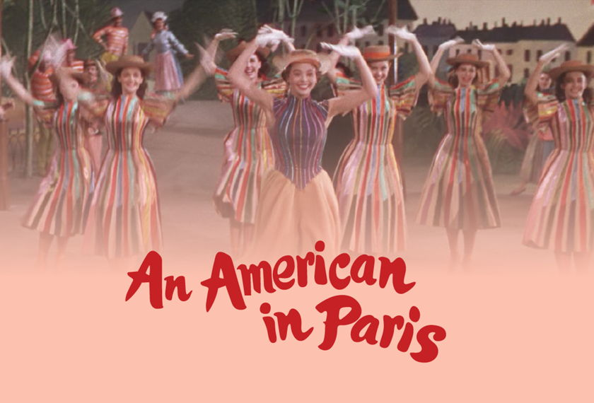 An American in Paris artwork