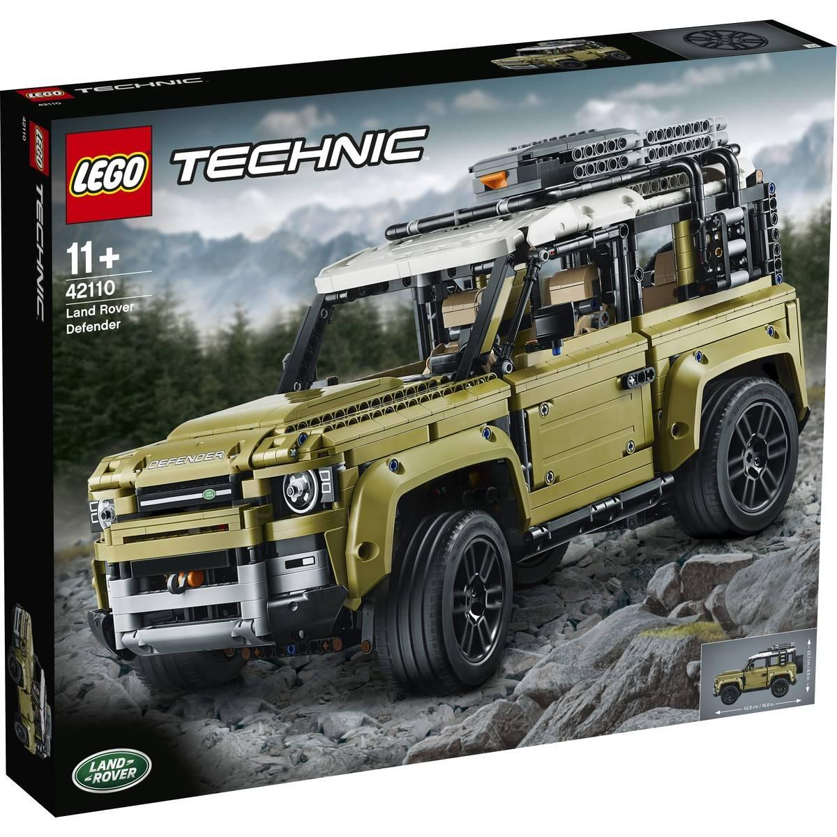 Land-Rover LEGO Defender