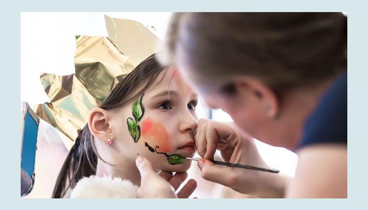 erfinderkinder kinderschminken