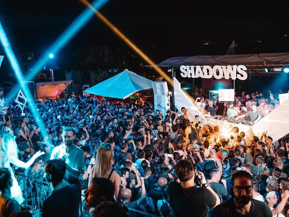 Shadows cova santa, Best new Ibiza parties