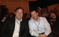 Curtis Reed of Arbor Point and new FPA Board member Dan Skiles at the Orlando conference this weekend.