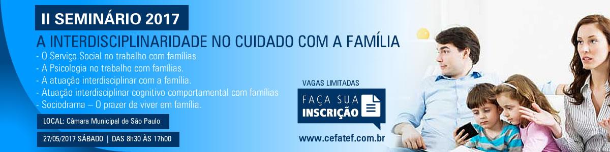 """""""A interdisciplinaridade no cuidado com a família"""""""