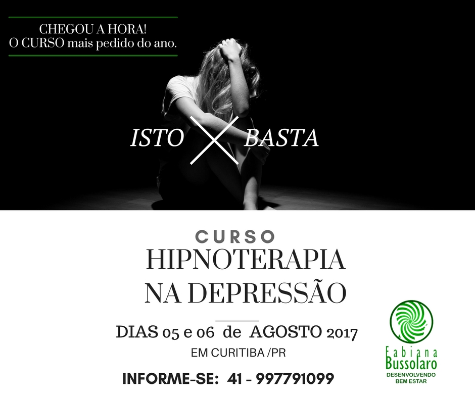 Hipnoterapia na Depressão