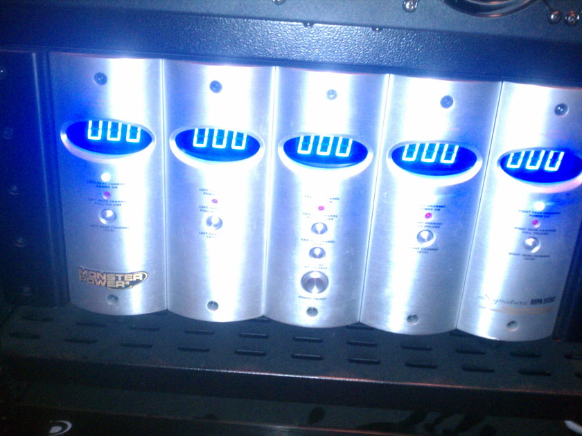 Monster MP A-5150 5 Channel AMP SS