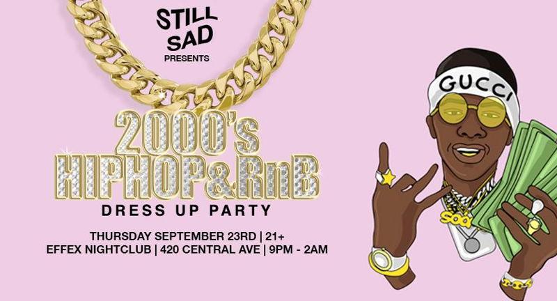 2000s Hip-Hop & RnB Dress-Up Party