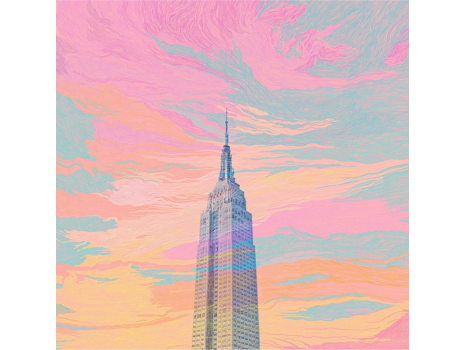 Limited Edition Empire State Print