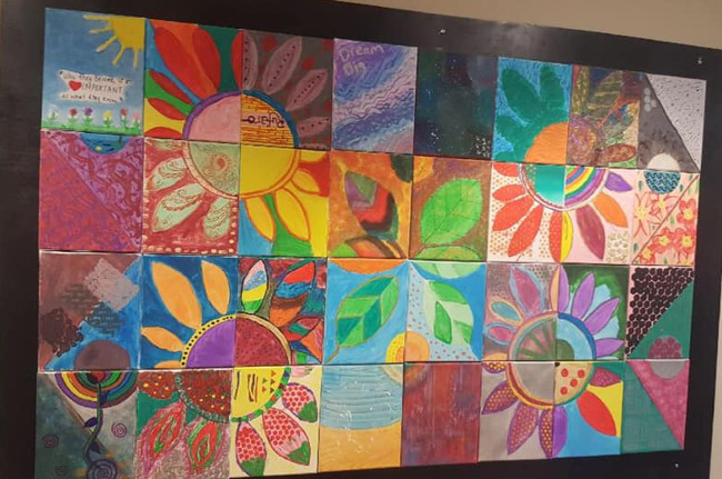 """Shared Vision"" is a beautiful work of art created by each and every member of our staff."