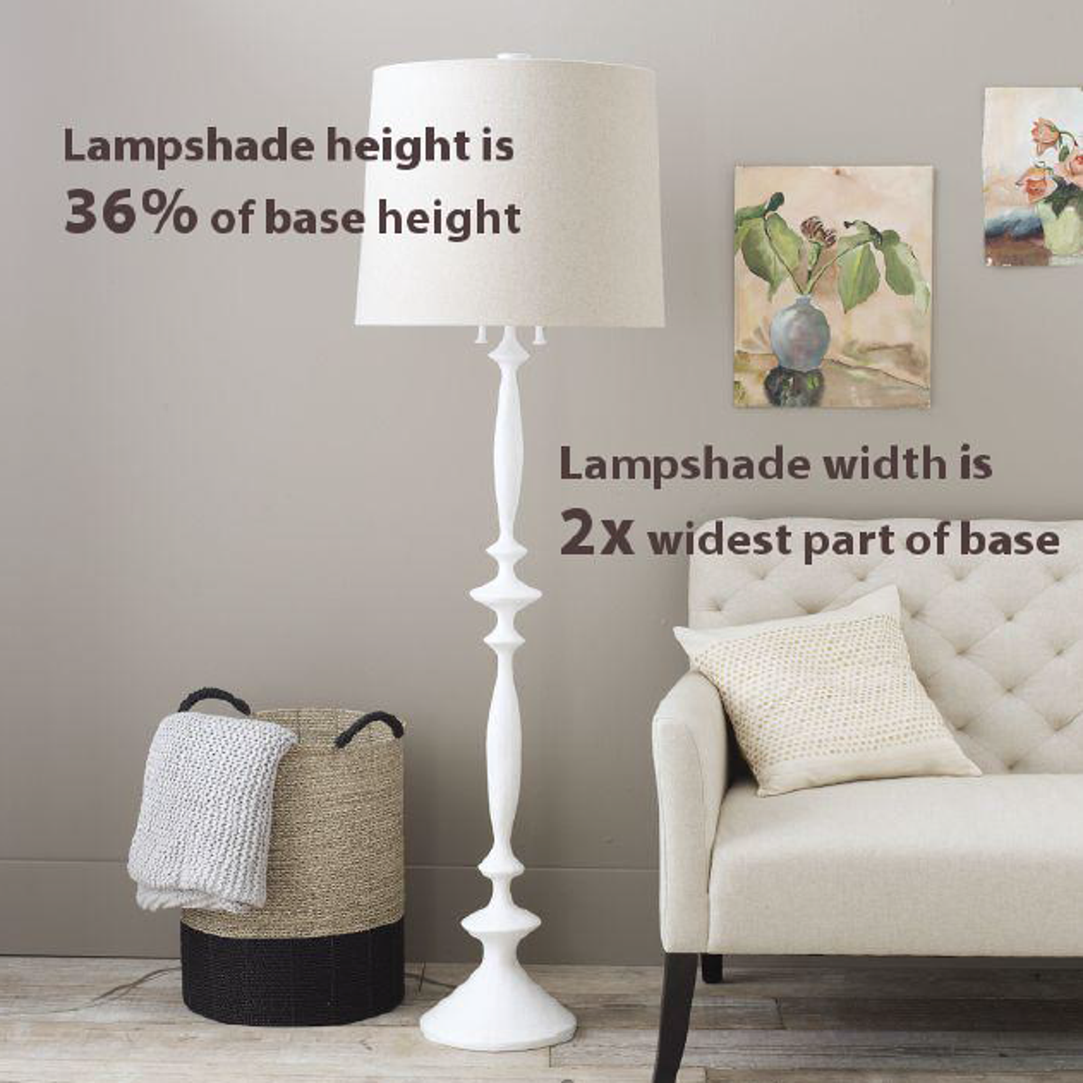 If The Lamp Already Has A Harp And You Re Satisfied With Its Height Simply Measure From Top To Base Of Electrical Socket