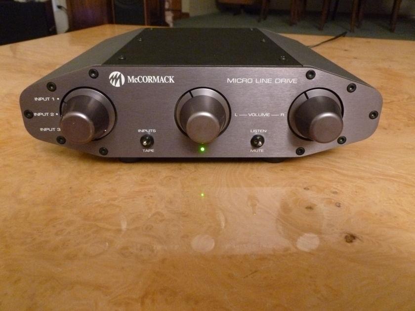McCormack MICRO LINE DRIVE Dual Mono, Line Stage Preamplifier