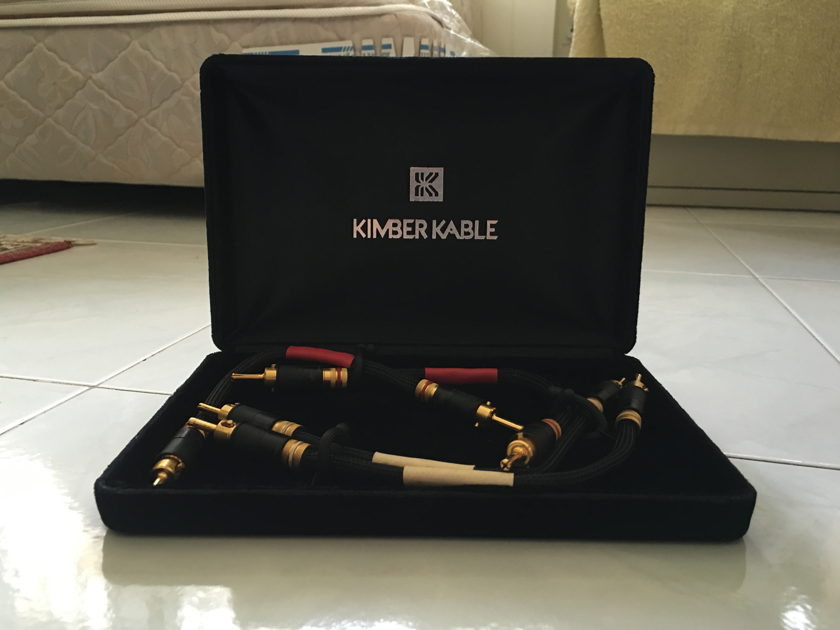 Kimber Kable 9033 with WBT 6044