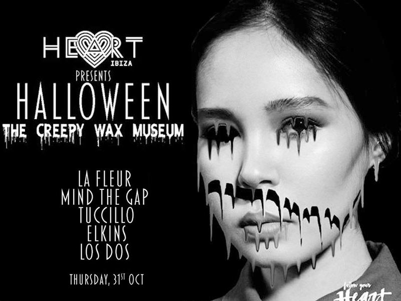 Heart Club halloween Ibiza party 2019