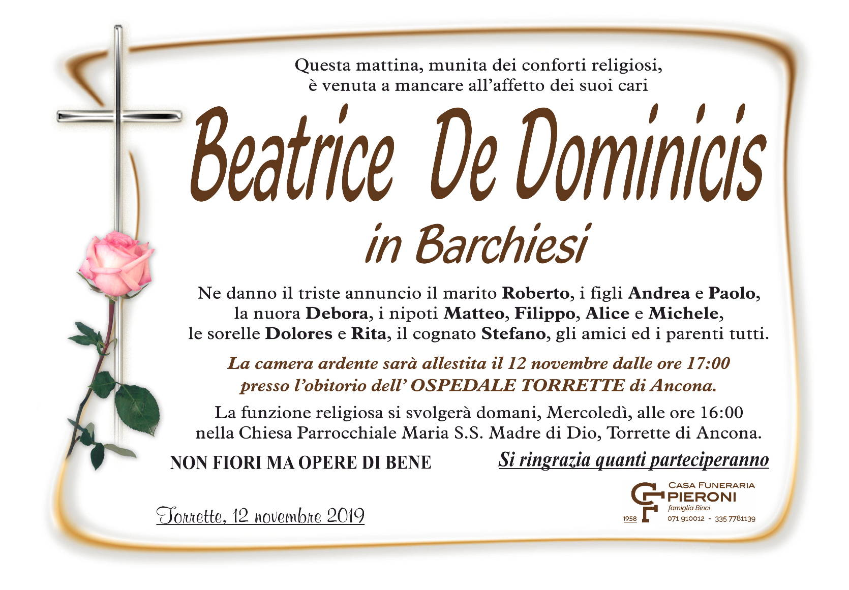 Beatrice De Dominics