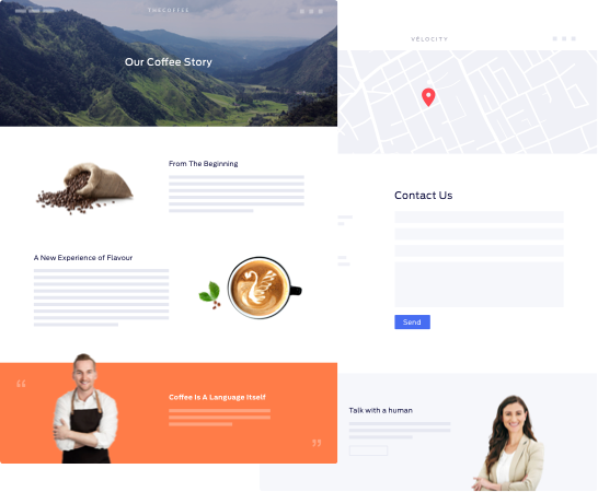 Shopify Native Pages