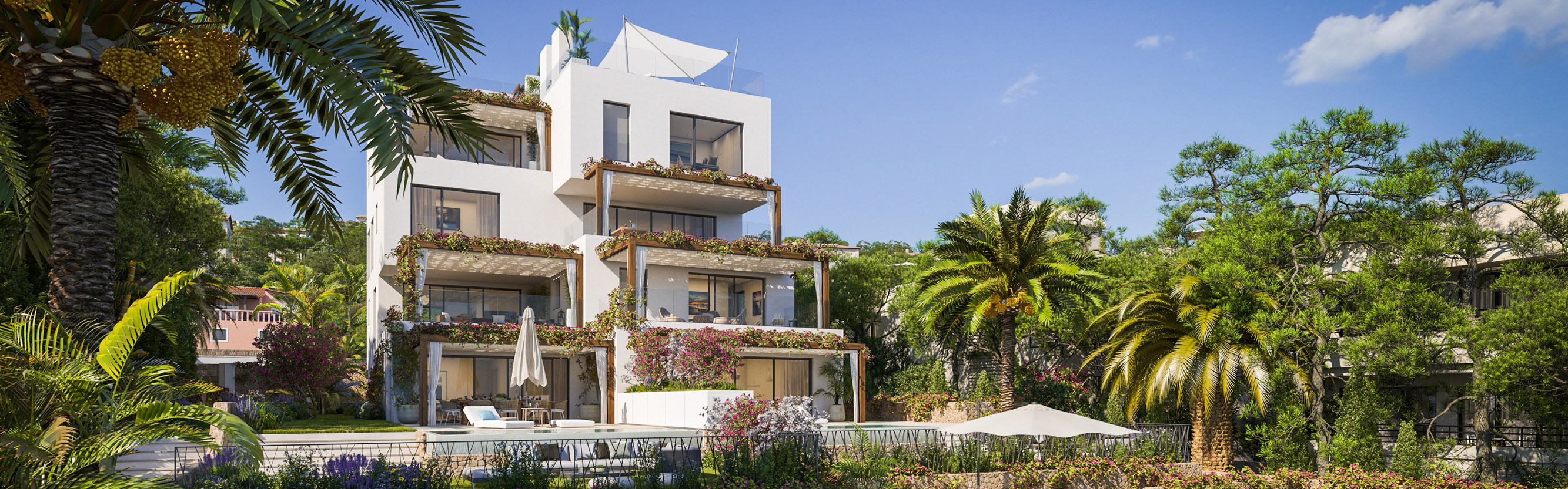 Balearen, Spanien - ROOF - New build apartments near Palma, Mallorca