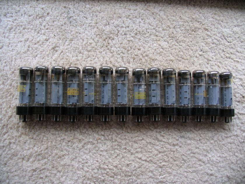 Mixed 6l6wbg-807-kt90-el3 new old stock 31 tubes